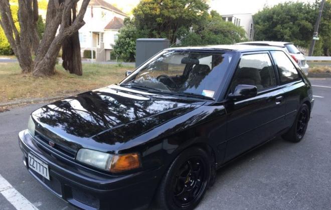 1990 Mazda GT-X Familia Turbo hatch black paint images (5).jpg