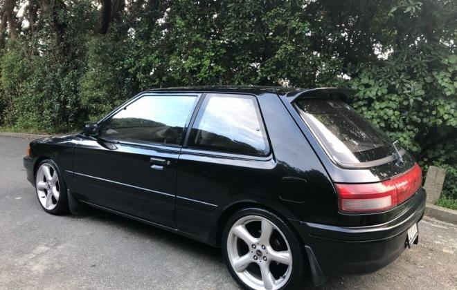 1990 Mazda GT-X Familia Turbo hatch black paint images (7).jpg