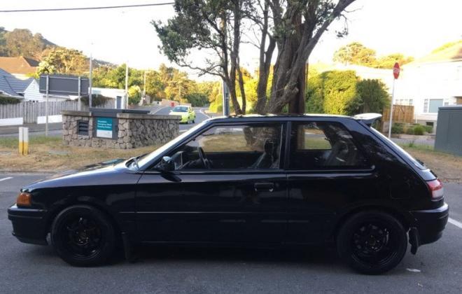 1990 Mazda GT-X Familia Turbo hatch black paint images (8).jpg