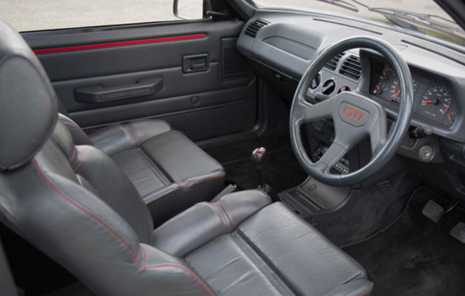1990 Peugeot 205 GTI full leather interior.png