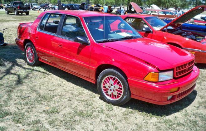 1991 Dodge Spirit RT Sedan Turbo Red images (1).jpg