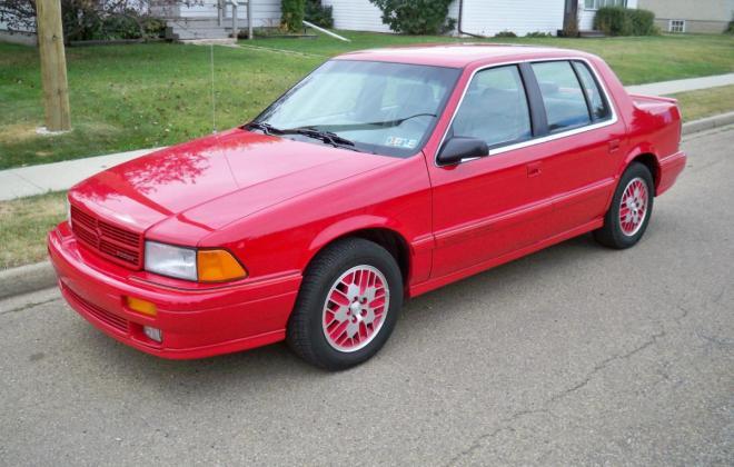 1991 Dodge Spirit RT Sedan Turbo Red images (10).jpg