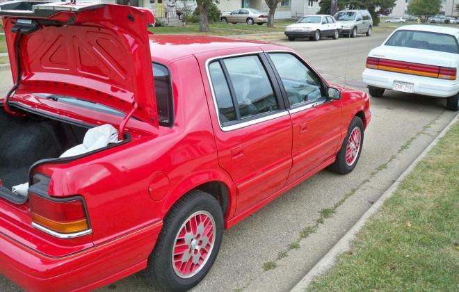 1991 Dodge Spirit RT Sedan Turbo Red images (11).jpg