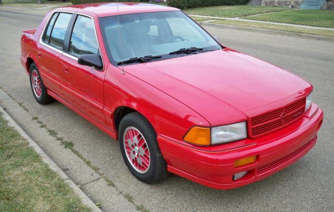 1991 Dodge Spirit RT Sedan Turbo Red images (12).jpg