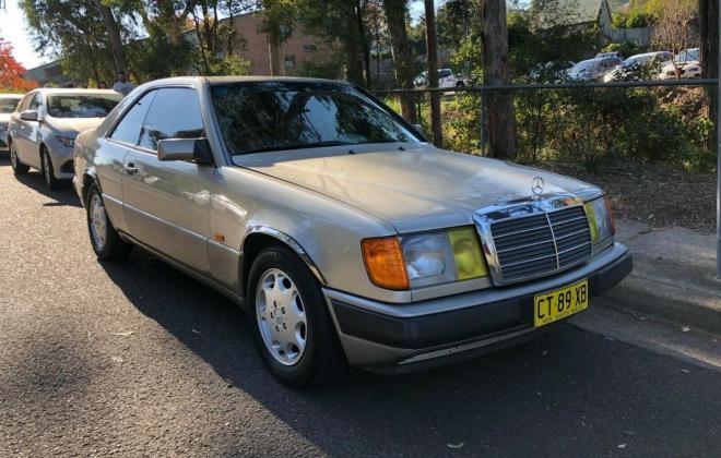 1992 Mercedes 320CE coupe Australian images (12).jpg