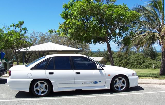 1992 VP GTS HSV commodore white side image.png