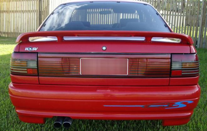 1992 VP HSV GTS rear image red paint.jpg