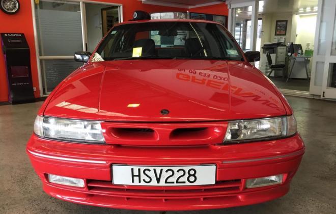 1992 VP HSV Holden Red clubsport  build number 228 images (12).jpg