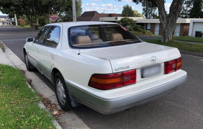 1993 Lexus LS400 Sedan white Australia images (13).jpg