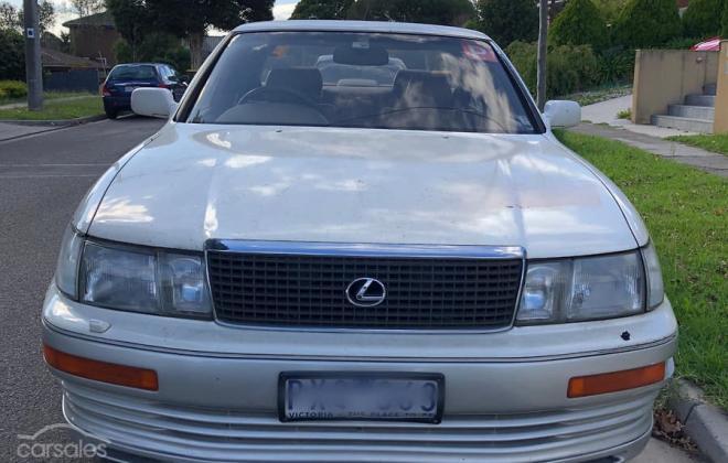 1993 Lexus LS400 Sedan white Australia images (7).jpg