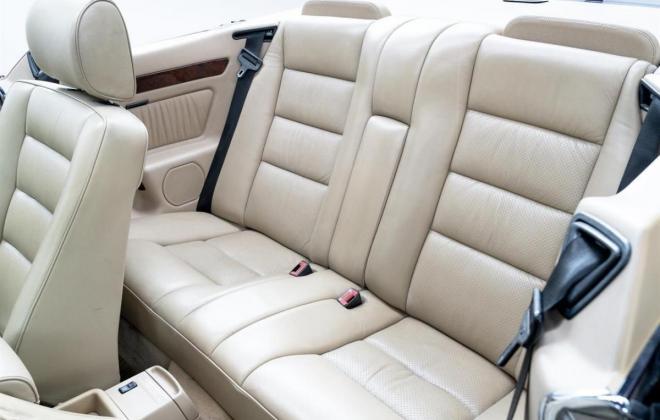1993 Mercedes E320 cabriolet convertible  mushroom leather interior images sportline (18).jpg