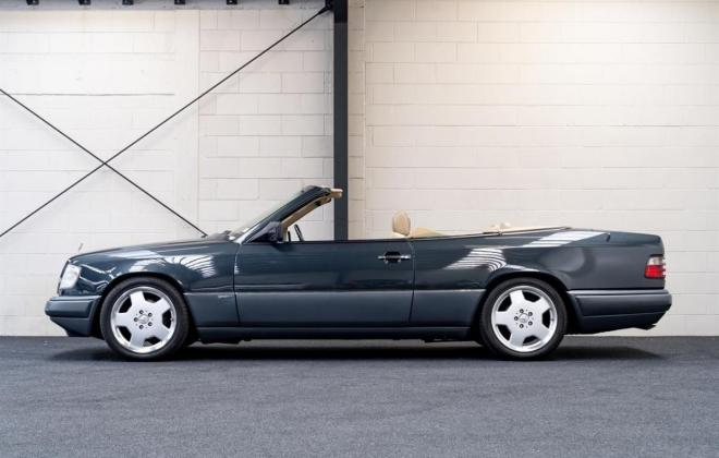 1993 Mercedes E320 cabriolet convertible gray with mushroom leather sportline (1).jpg
