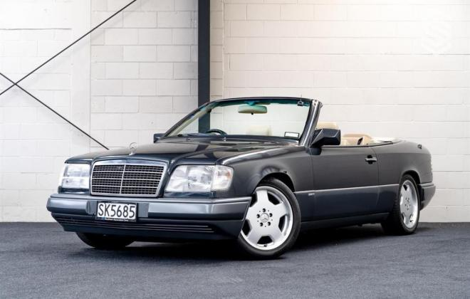 1993 Mercedes E320 cabriolet convertible gray with mushroom leather sportline (7).jpg