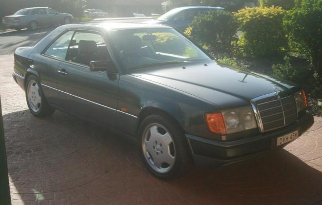 1993 Mercedes W124 320CE Coupe Charcoal Australian delivered (1).jpg
