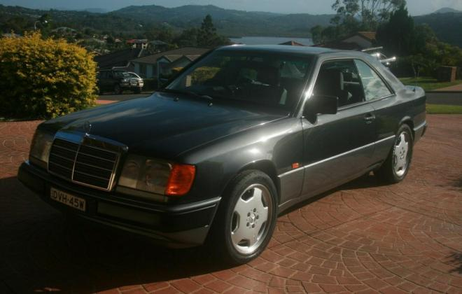 1993 Mercedes W124 320CE Coupe Charcoal Australian delivered (12).jpg