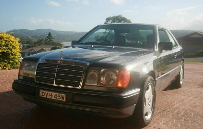 1993 Mercedes W124 320CE Coupe Charcoal Australian delivered (2).jpg
