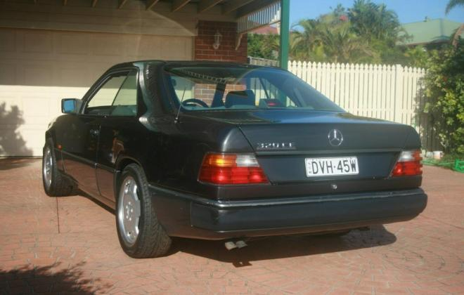 1993 Mercedes W124 320CE Coupe Charcoal Australian delivered (4).jpg
