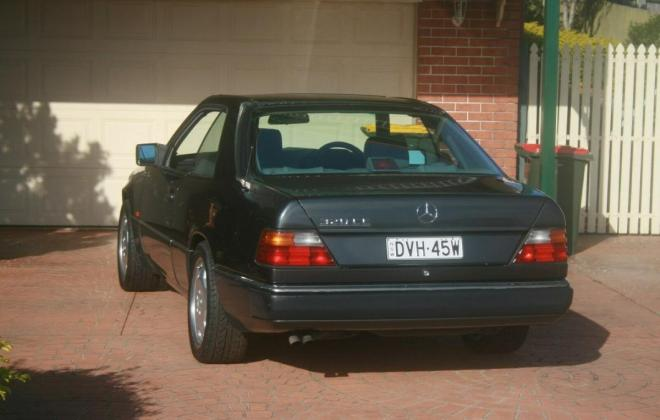 1993 Mercedes W124 320CE Coupe Charcoal Australian delivered (5).jpg