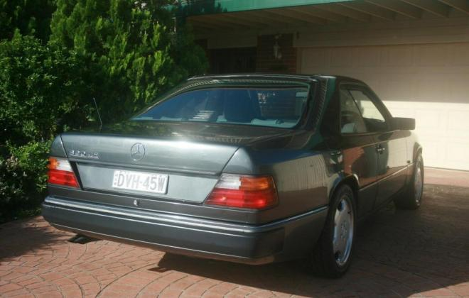 1993 Mercedes W124 320CE Coupe Charcoal Australian delivered (6).jpg