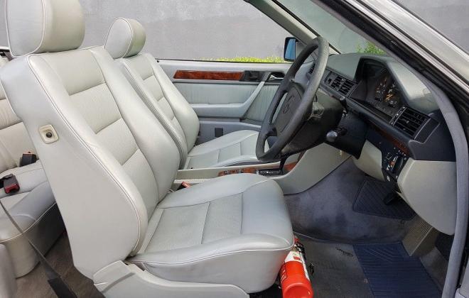 1993 Mercedes W124 E320 Cabriolet black on grey images (8).jpg