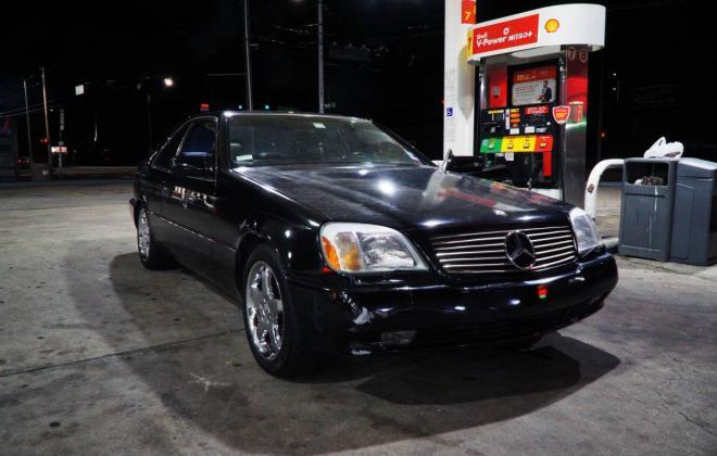 1994 Black Mercedes Benz C140 W140 coupe S500 images 2019 (3).jpg