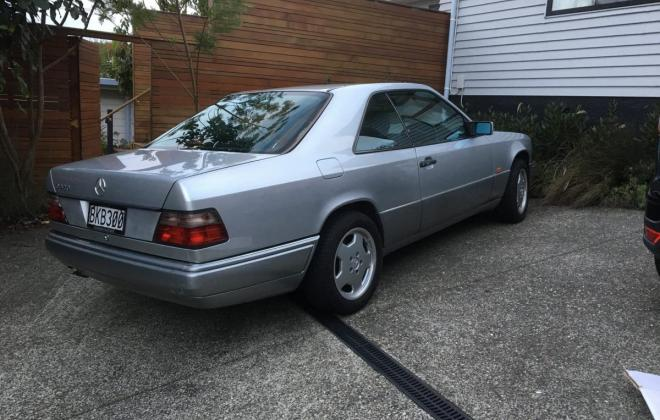 1994 Mercedes C124 320CE Japanese import to NZ Silver (1).jpg