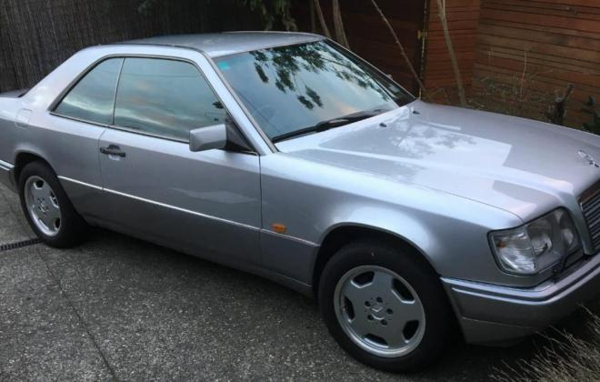 1994 Mercedes C124 320CE Japanese import to NZ Silver (2).jpg