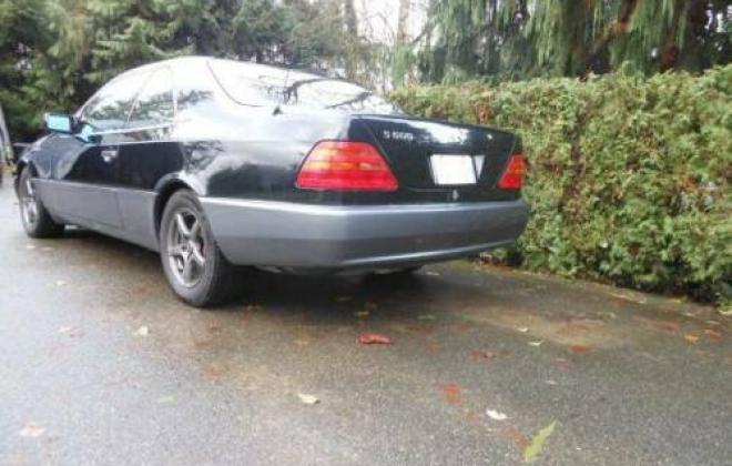 1994 Mercedes S600 coupe black grey C140 W140 coupe (3).jpg