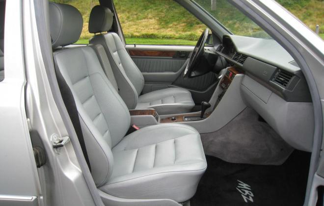 1994 Mercedes W124 500E silver metallic USA (18).jpg
