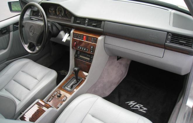 1994 Mercedes W124 500E silver metallic USA (19).jpg