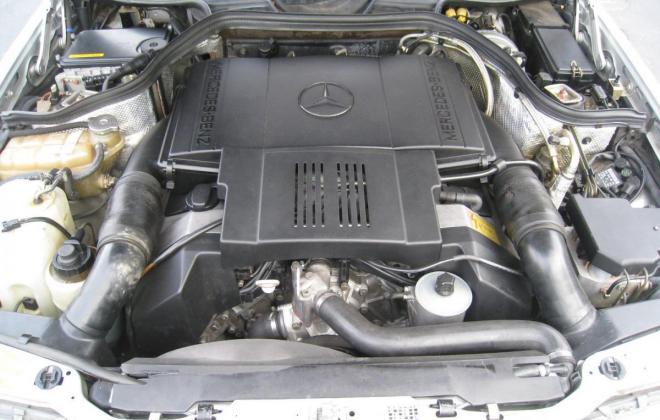 1994 Mercedes W124 500E silver metallic USA (21).jpg