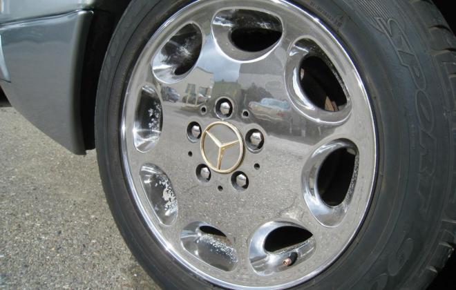 1994 Mercedes W124 500E silver metallic USA (23).jpg