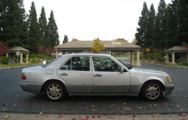 1994 Mercedes W124 500E silver metallic USA (4).jpg