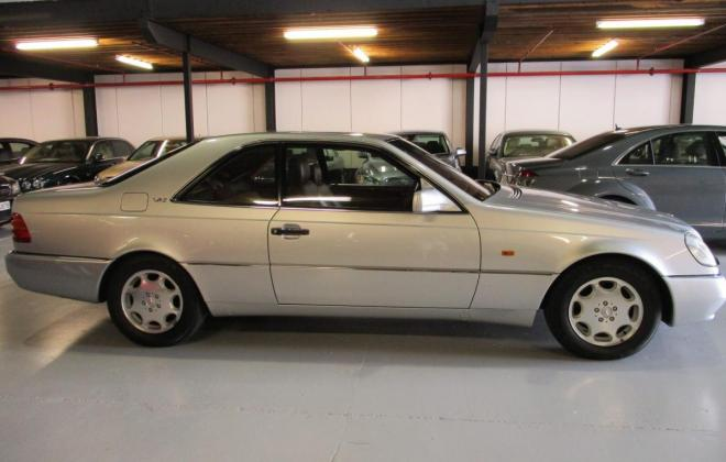 1994 S600 Mercedes coupe C140 silver (2).jpg