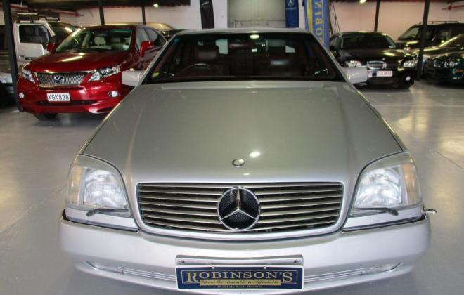 1994 S600 Mercedes coupe C140 silver (3).jpg