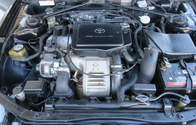 1994 Toyota Celica GT-Gour GT4 black coupe ST205 NZ engine images (4).jpg