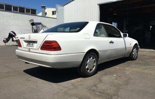 1994 White Mercedes S500 Coupe New Zeland images classic car (5).jpg