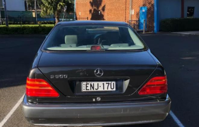 1995 Mercedes S500 C140 Dark Grey paint high mileage Australian delivered 2021 (10).png