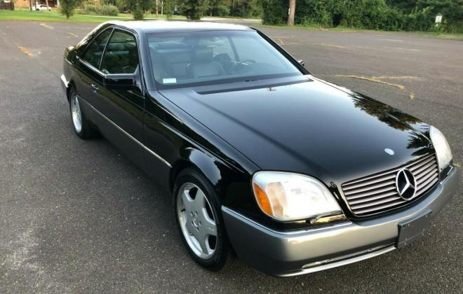 1996 CL600 USA Mercedes C140 coupe pre-facelift Black on Grey (1).jpg