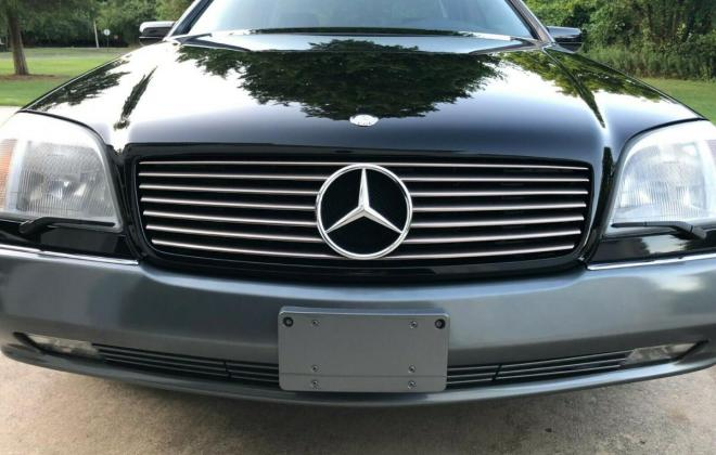 1996 CL600 USA Mercedes C140 coupe pre-facelift Black on Grey (2).jpg