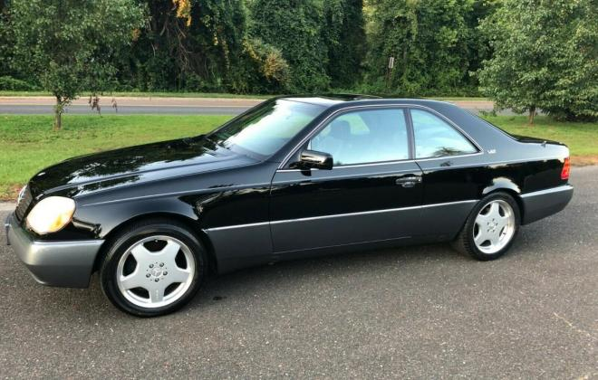 1996 CL600 USA Mercedes C140 coupe pre-facelift Black on Grey (3).jpg
