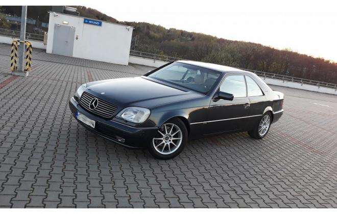 1996 Green CL420 Mercedes C140 coupe images (1).jpg