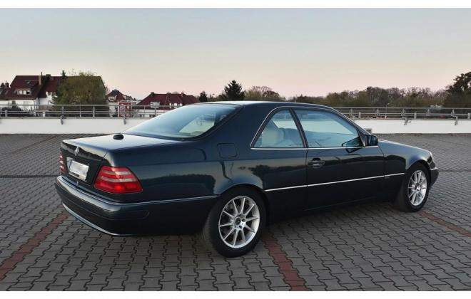 1996 Green CL420 Mercedes C140 coupe images (10).jpg