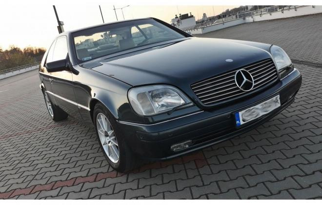 1996 Green CL420 Mercedes C140 coupe images (2).jpg