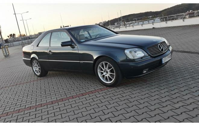 1996 Green CL420 Mercedes C140 coupe images (3).jpg