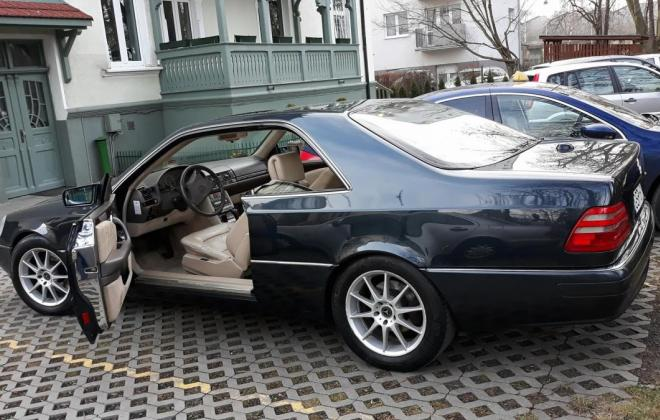 1996 Green CL420 Mercedes C140 coupe images (5).jpg