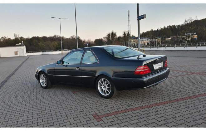 1996 Green CL420 Mercedes C140 coupe images (9).jpg