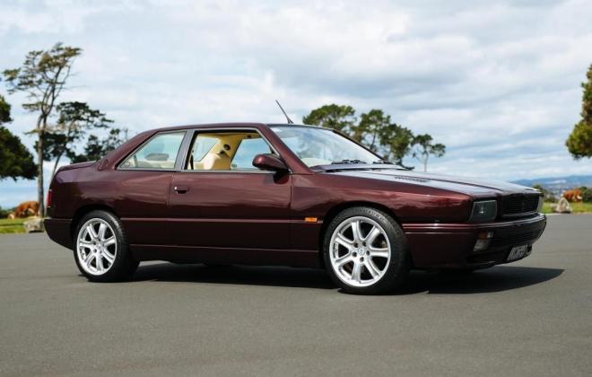 1996 Maserati Ghibli GT Coupe burgundy maroon images RHD rare images (16).jpg