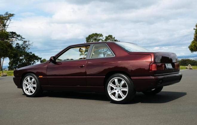 1996 Maserati Ghibli GT Coupe burgundy maroon images RHD rare images (8).jpg