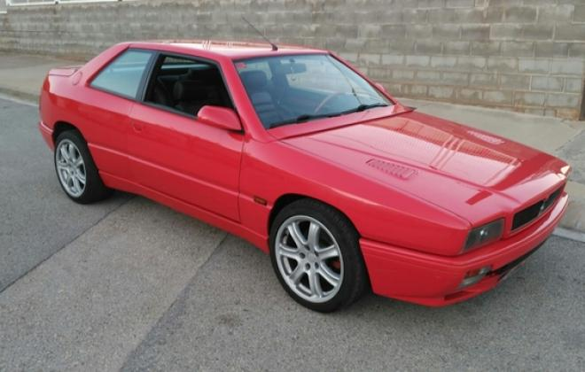 1996 Maserati Ghibli GT red coupe red paint images turbo (1).jpg